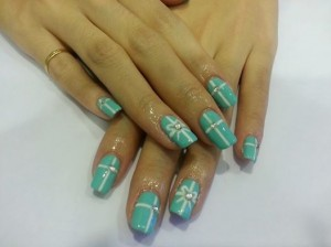 Far East Plaza manicure tiffany gel